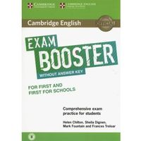 Cambridge English Exam Booster for First and First for Schools Without Answer Key with Audio (9781316641750)