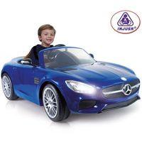 INJUSA Auto na akumulator MERCEDES 6V niebieski (8410964071725)