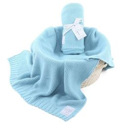 Kocyk : cottonclassic - niebieski marki Colorstories
