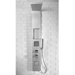 9765 panel prysznicowy, srebrny marki Rea