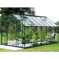 Szklarnia ogrodowa jupiter 2,57x4,45 m  zielona - transport gratis! wyprodukowany przez Vitavia
