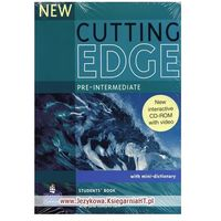 New Cutting Edge Pre-Intermediate Students Book and CD-ROM P (Pearson Education)