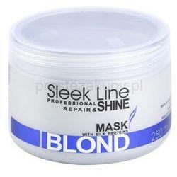 Stapiz Sleek Line Blond maseczka do blond i siwych włosów + do każdego zamówienia upominek.