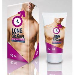 Long Sex Gel - jescze dłuższy seks - produkt z kategorii- Potencja - erekcja