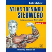 Atlas treningu siłowego, oprawa broszurowa