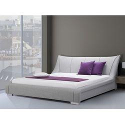 Łóżko wodne 180x200 cm - dodatki - NANTES szare