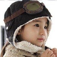 Gadget master Czapka pilotka dla dzieci - czarna