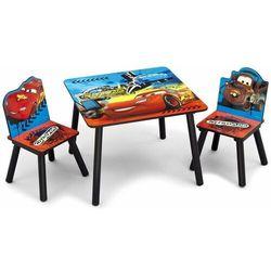 Delta cars auta zestaw stolik i 2 krzesełka