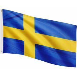 Flagmaster ® Flaga szwecji szwedzka 120x80 cm na maszt szwecja