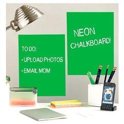 naklejki tablica kredowa neon marki Wallies