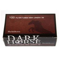 Gilzy Dark Horse 100 szt Black&Brown z kategorii Akcesoria do wyrobów tytoniowych