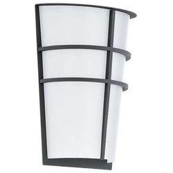 Zewnętrzna LAMPA ścienna BREGANZO 94138 Eglo metalowa OPRAWA ogrodowa LED IP44 outdoor biały, kup u jednego z partnerów