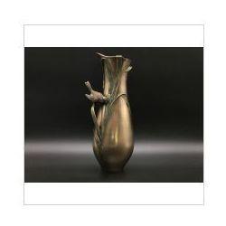 Wazon z ptakiem w stylu art deco (an10500v4) marki Veronese
