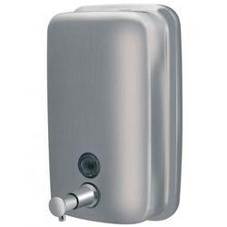Dozownik mydła 1000ml stal nierdzewna satyna (5901487014175)