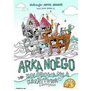 Arka noego. kolorowanka kreatywna z naklejkami marki Wam