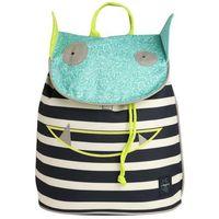 Lässig LÄssig 4kids plecak mini duffle backpack little monsters - bouncing bob (4042183346380)