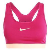 Nike Performance NEW CLASSIC Biustonosz sportowy sport fuchsia/sunset glow, kolor fioletowy
