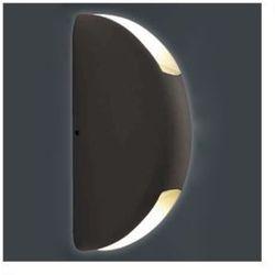 Elewacyjna LAMPA ścienna MILA 091 kinkiet OPRAWA LED 6W do ogrodu IP44 outdoor grafitowa