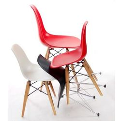 Krzesło dziecięce JuniorP016 inspirowane DSW - czarny (2200000021168)
