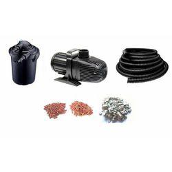 Aqua nova Zestaw professional filtr+lampa uv+pompa+wąż oczko do 15m3