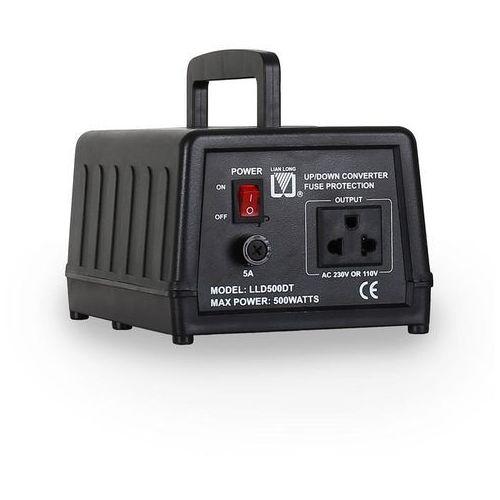 Transformator 110/120 V <-> 220/240 V Lianlong LLD500DT - sprawdź w wybranym sklepie