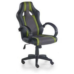 Fotel gabinetowy Halmar Radix popielato-zielony