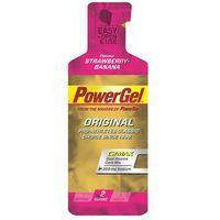 PowerBar PowerGel Original Żywność energetyczna Strawberry-Banana flavour różowy/złoty Batony i żele en