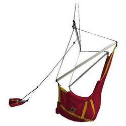 Fotel księżycowy, czerwono-żółty moonchair marki La siesta