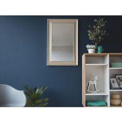 Lustro złote - w ramie - do łazienki - do salonu - 60 x 90 cm - CASSIS (7105272500968)