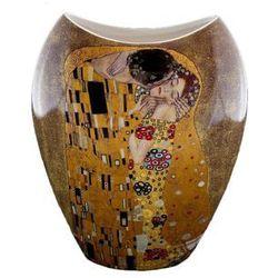 Fusaichi pegasus Gustav klimt pocałunek wazon 25 cm na prezent