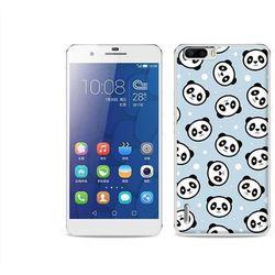 Fantastic case - huawei honor 6 plus - etui na telefon fantastic case - panda na niebieskim tle od producenta