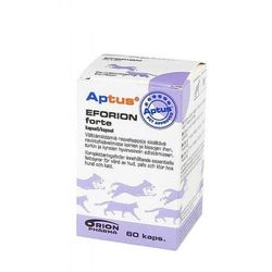 ORION PHARMA Aptus Eforion Forte tabletki dla psów i kotów z kwasami tłuszczowymi Omega 3 i 6 - sprawdź w