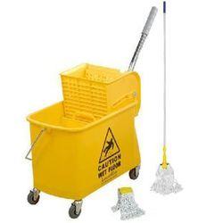 Zestaw do mycia małych powierzchni wózek, kij i mop, kentucky_zestaw