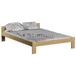 Łóżko sosnowe celinka 140x200 marki Magnat - producent mebli drewnianych i materacy