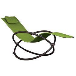 Leżak hamakowy Orbital, Zielony ORBL1 - produkt z kategorii- Leżaki ogrodowe