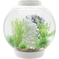 Akwarium akrylowe  biorb classic 30 led weiß 45674, z podświetleniem led, 30 l marki Oase