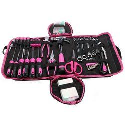 Sixtol Zestaw narzędzi Home Pink, 120 szt., 691021