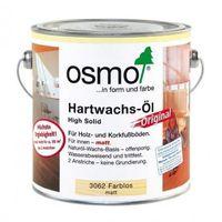 OSMO 3062 Wosk Twardy Olejny ORIGINAL 0,75 L - MATOWY BEZBARWNY z kategorii Woski i płyny do impregnacji pod�