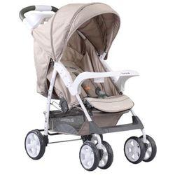 Adamex, Quatro Imola, wózek spacerowy, beżowy, towar z kategorii: Wózki spacerowe