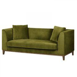 Scandinavian style design Lily nowoczesna sofa 3 os. - zielony