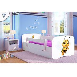 Łóżko dziecięce Kocot-Meble BABYDREAMS PSZCZÓŁKA, Kolory Negocjuj Cenę, Kocot-Meble