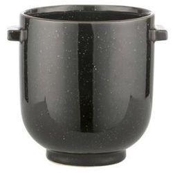 Doniczka Helleria czarna Ø12x12.5 cm