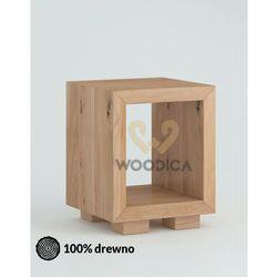 Szafka nocna dębowa cerasus 04 marki Woodica