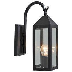 Lampa zewnętrzna Bussum ścienna czarna (lampa zewnętrzna ścienna)