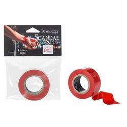 Scandal Lovers Tape Red z kategorii Pozostałe BDSM