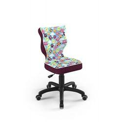 Krzesło dziecięce na wzrost 133-159cm Petit Black ST32 rozmiar 4