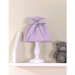 lampka nocna słonik fioletowy marki Mamo-tato