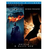 Batman Poczatek / Mroczny Rycerz (4Dvd) Pakiet Kolekcjonerski(4DVD)