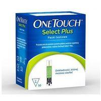 Lifescan Onetouch select plus paski testowe x 50 sztuk