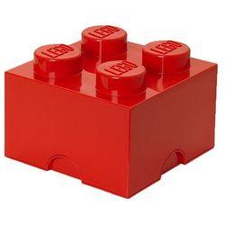 POJEMNIK LEGO 4 CZERWONY - LEGO POJEMNIKI, 4003